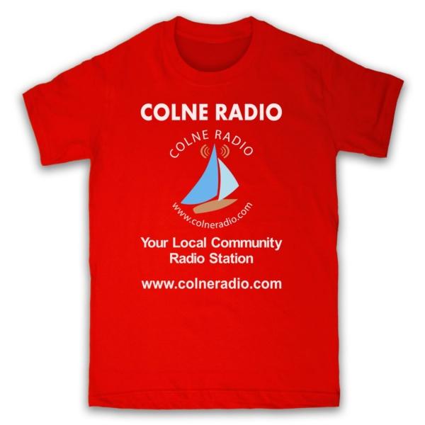 Colne Radio T Shirt Digital Print