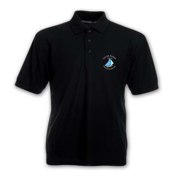 Colne Radio Polo Shirt Embroidered