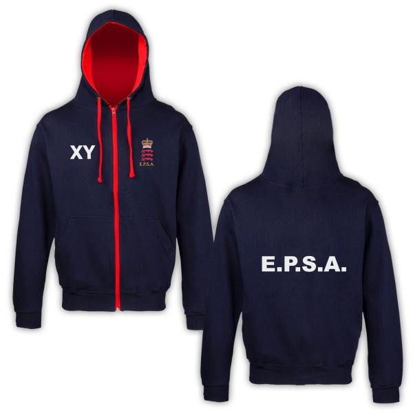 Essex Police Cricket Adults Hoodie Varsity Zipped