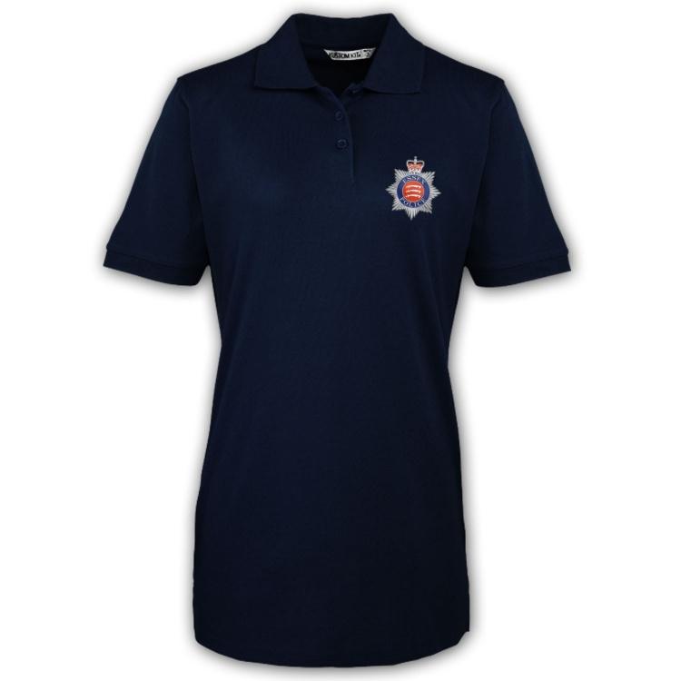 Essex Police Cricket Womens Polo Shirt