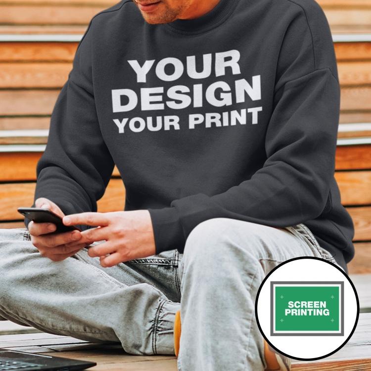 Screen Printed Sweaters