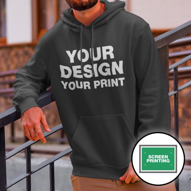 Screen Printed Hoodies