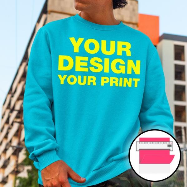Flex Print Sweaters