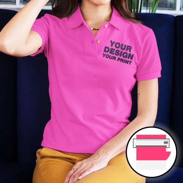 Flex Printed Polo Shirts
