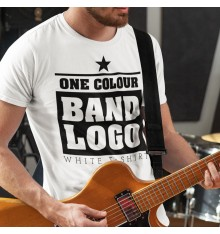 White T Shirt Band Package...