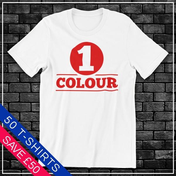 White T Shirt Screen Print Deals