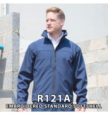 Embroidered Softshell Jackets