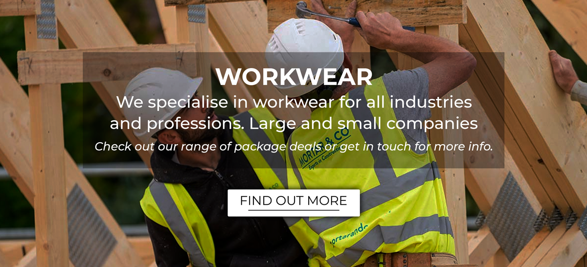 We offer an amazing selection of workwear. No matter if you work for a large company or if you are sole trader, we have a package for you.